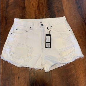 NWT Carmar Denim White Shorts